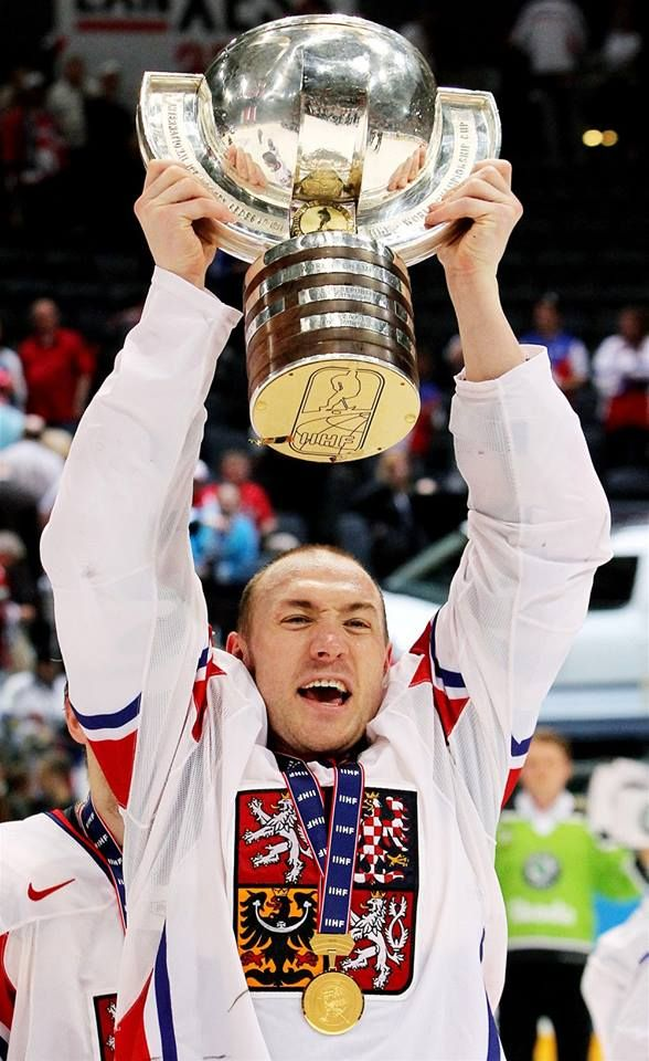 2010 Karel Rachunek with  WC Trophy  #WC2010 #NeverForget #Lokomotiv  #CZE  https://www.facebook.com/MilujemeHokej/photos/a.323338714402450.70410.323069101096078/1019181018151546/?type=3