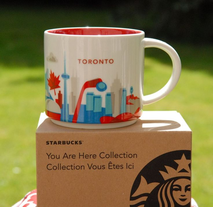 starbucks city mug tasse toronto kanada 14oz 414ml you are here neu neu neu starbucks. Black Bedroom Furniture Sets. Home Design Ideas