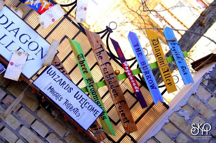 Гарри поттер, harry potter, decor, Sokho decor studio, подарки, magical presents, magic wands, wizards welcome