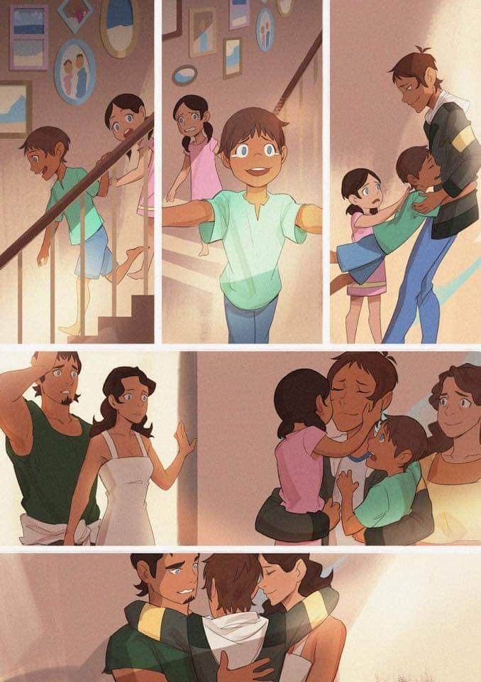 Lance meets his family again ;0; it's so sweet ;;;;-;;;;;;; Voltron Family