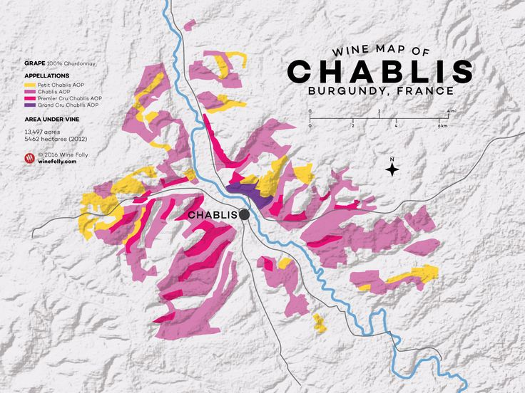 "Chablis (""Shah-blee"") is a Chardonnnay region in the northwest corner of Burgundy, France."