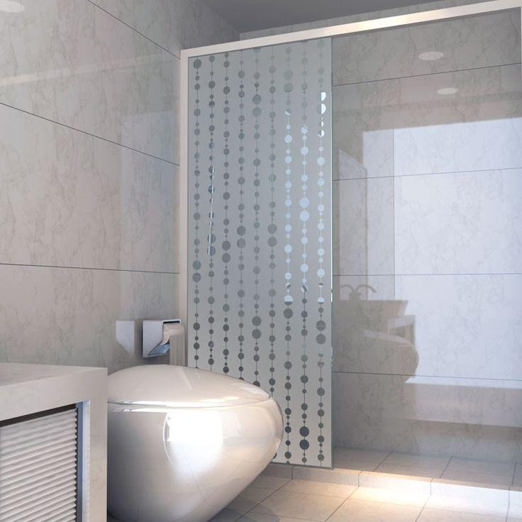 D corez votre paroi de douche tout en occultant la vue - Stickers pour paroi de douche ...
