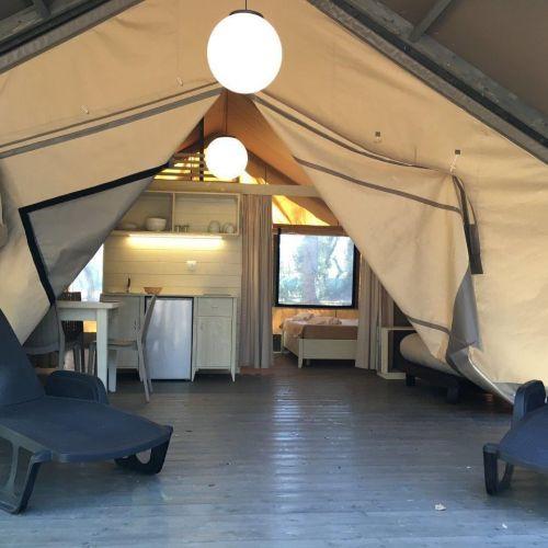 Tenda Glamour » Safari con Servizio Spiaggia - 1