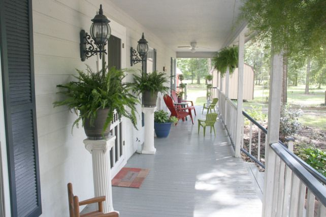 Best 25 Concrete Front Porch Ideas On Pinterest