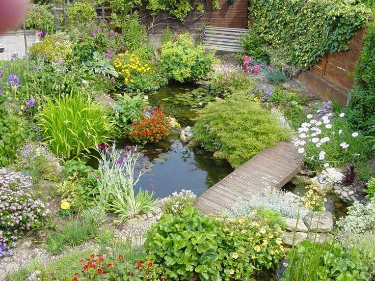 25 besten Gartenteich Ideen Bilder auf Pinterest Gartenteiche - bilder gartenteiche mit bachlauf