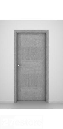 Looking for an 8 ft. modern door solution? How is this Grey Oak Interior Doors Trafalgar?   #doors #oak