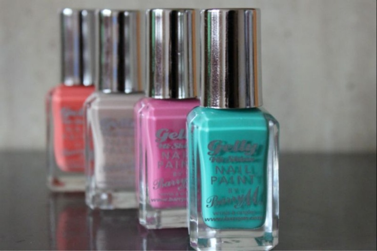 New Barry M Gelly Hi-Shine Nail Paint Shades