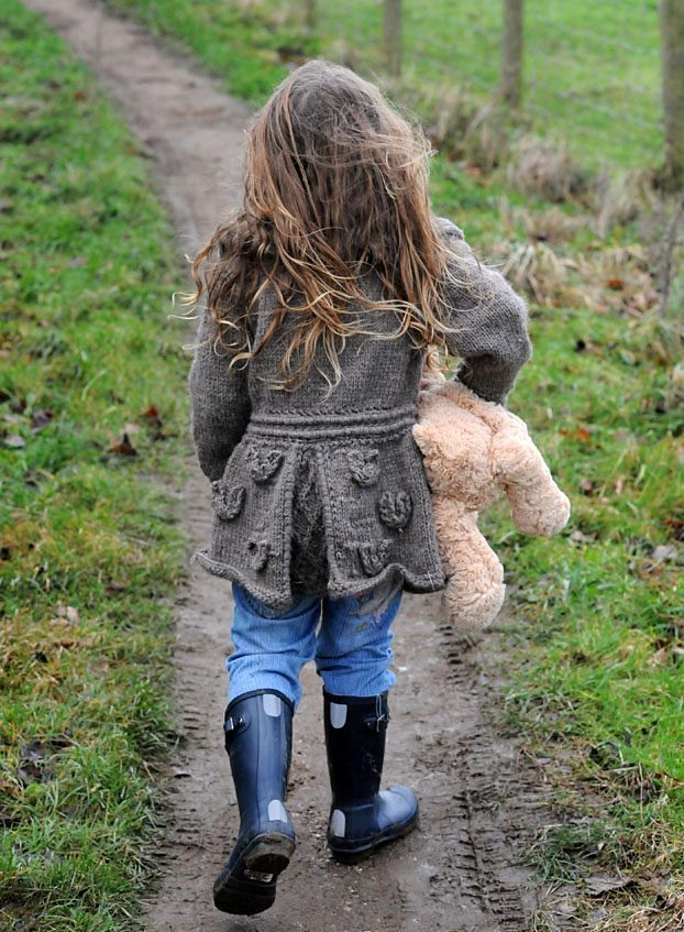 Ravelry: Eco Knit Child/Adult Adaptable Horseshoe Jacket pattern by Lorraine Hearn