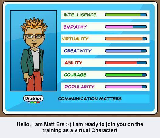 Introducing Matt, the avatar.