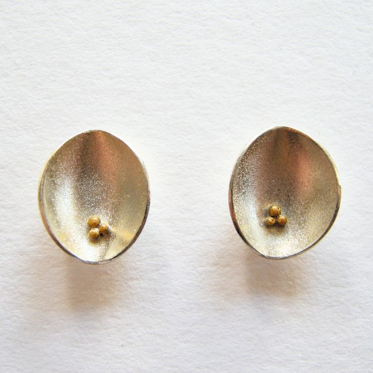 Cluster Pod Earrings | Contemporary Earrings by contemporary jewellery designer Dot Sim