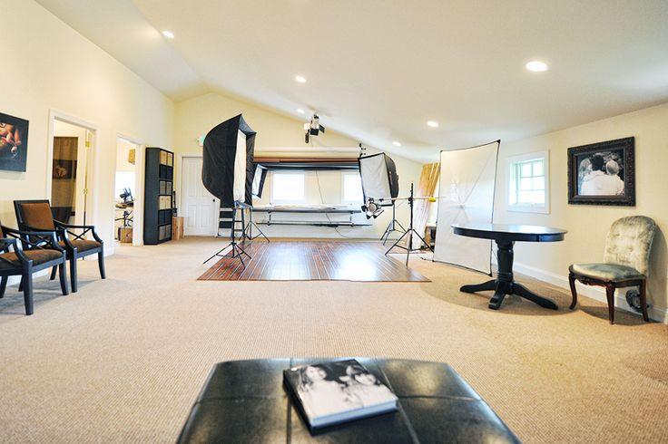 Gorgeous photography studio.