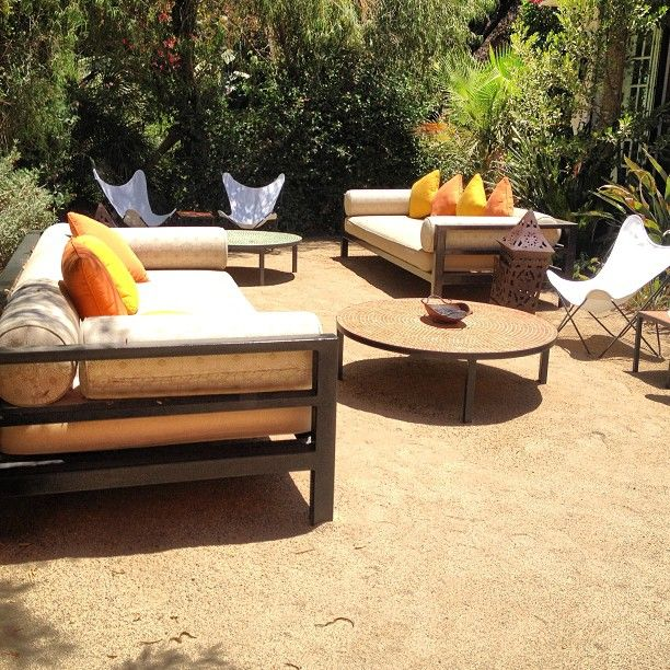 Spotlight On Palm Springs Style Outdoor Areas: 228 Best Images About Outdoor Seating On Pinterest