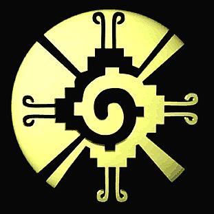 Este es el símbolo de Maya para el centro de la galaxia.