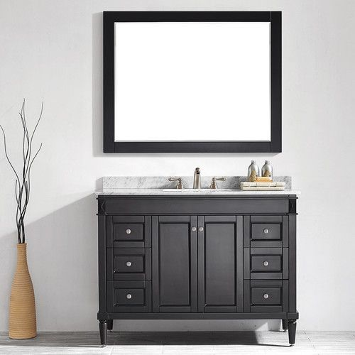 "Found it at Joss & Main - Laverne 48"" Single Vanity & Mirror Set"