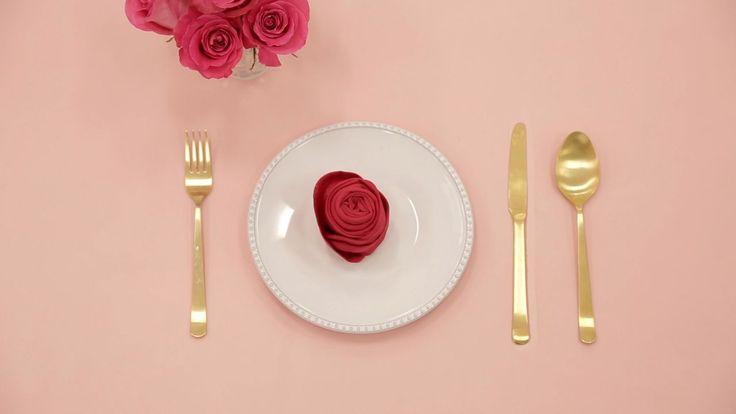 Napkin folding on pinterest wedding napkins napkins and wedding