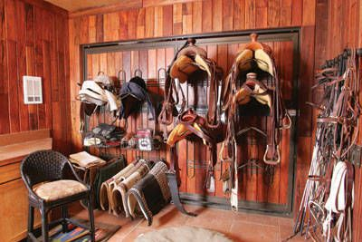 Classic Equine Equipment has a variety of tack systems which can make organizing your tack room a breeze.