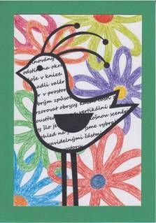 Ptáčci - koláž