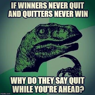 Wisdom from a Dinosaur