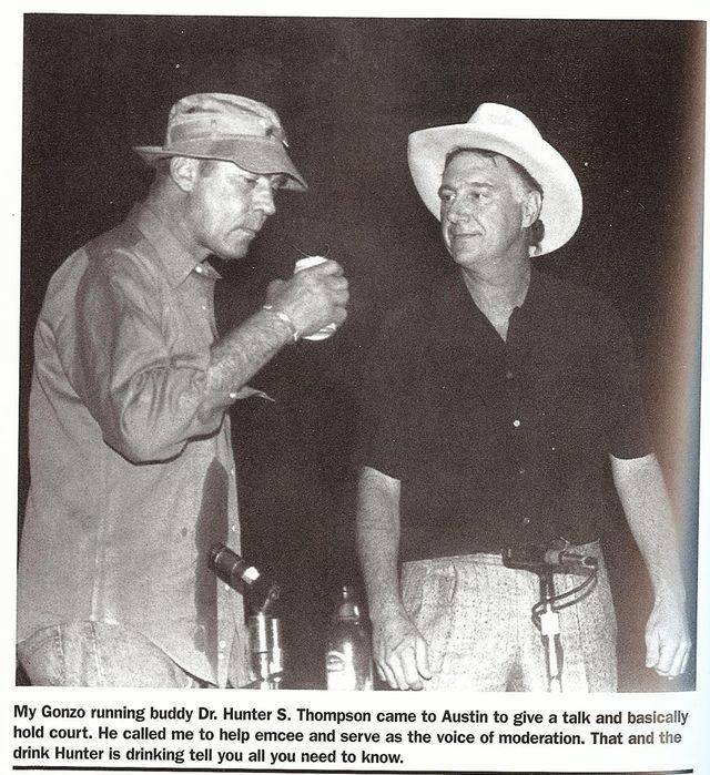 Hunter S Thompson Music Quote: Hunter S Thompson And Jerry Jeff Walker