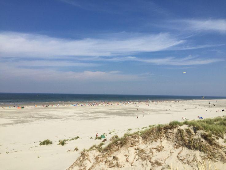 Zomers strand 2015 op Terschelling