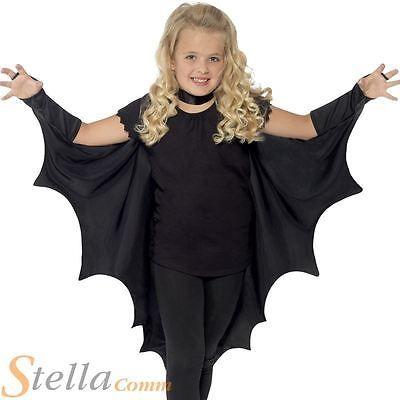 #Child bat wings #halloween cape cloak kids girls boys #fancy dress costume, View more on the LINK: http://www.zeppy.io/product/gb/2/111867508428/