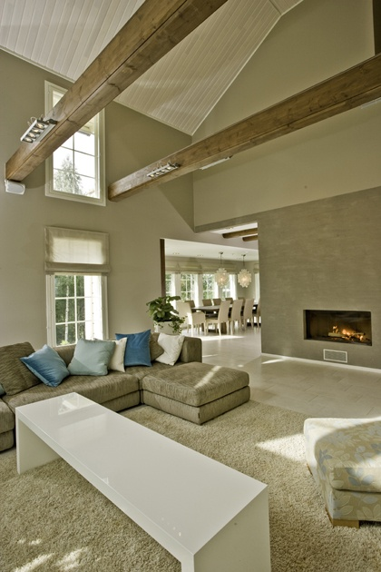 Combining wood and stone. #House