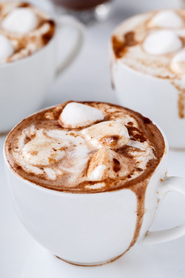 Cafe Delites | Peanut Butter Nutella Hot Chocolate | 6 pts w/out topping http://cafedelites.com