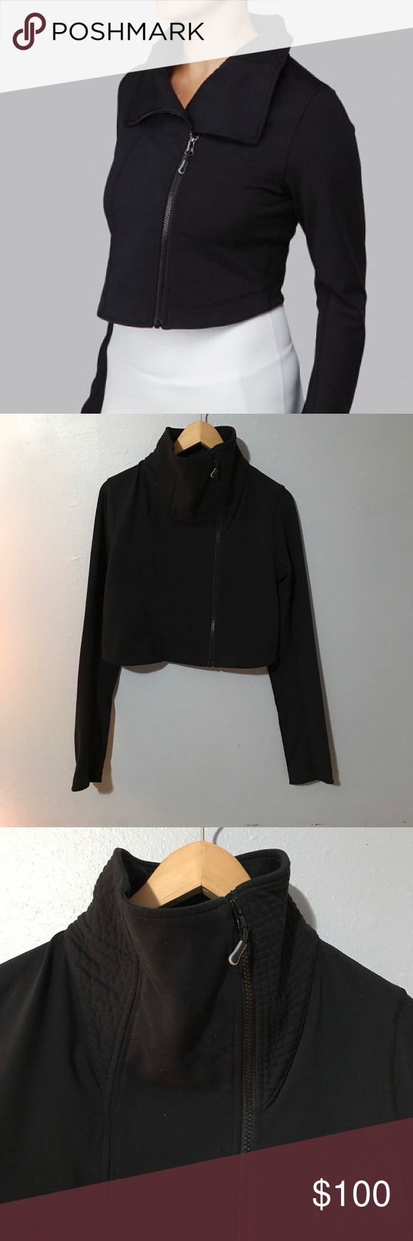 Lululemon Principle Cropped Jacket Gently preloved condition with no rips or stains. 87% nylon. 13% Lycra spandex. Please see all photos for accurate description of condition. Happy to answer any questions. lululemon athletica Jackets & Coats