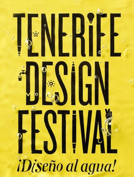 Tenerife Design Festival (Identity) by Lo Siento Studio, Barcelona