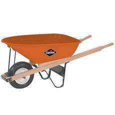 6 Cubic Ft Steel Tray Industrial Wheelbarrow Home Depot Canada