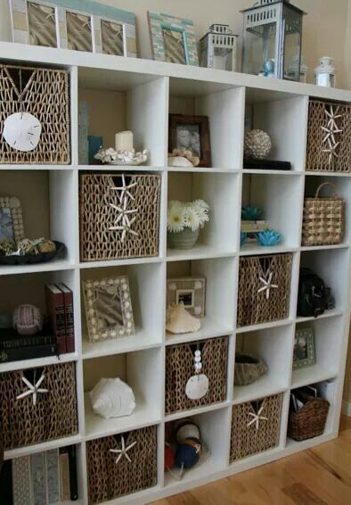 Nautical bookshelves