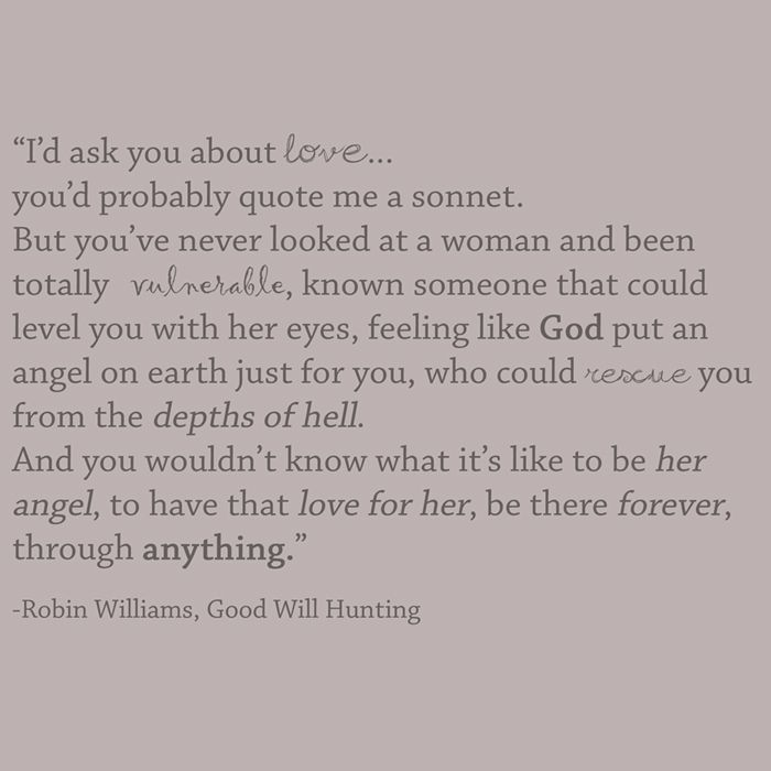 Image result for good will hunting quotes