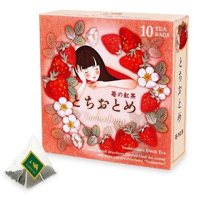 とちおとめ ~苺の紅茶~ ティーバッグ10個デザインBOX入