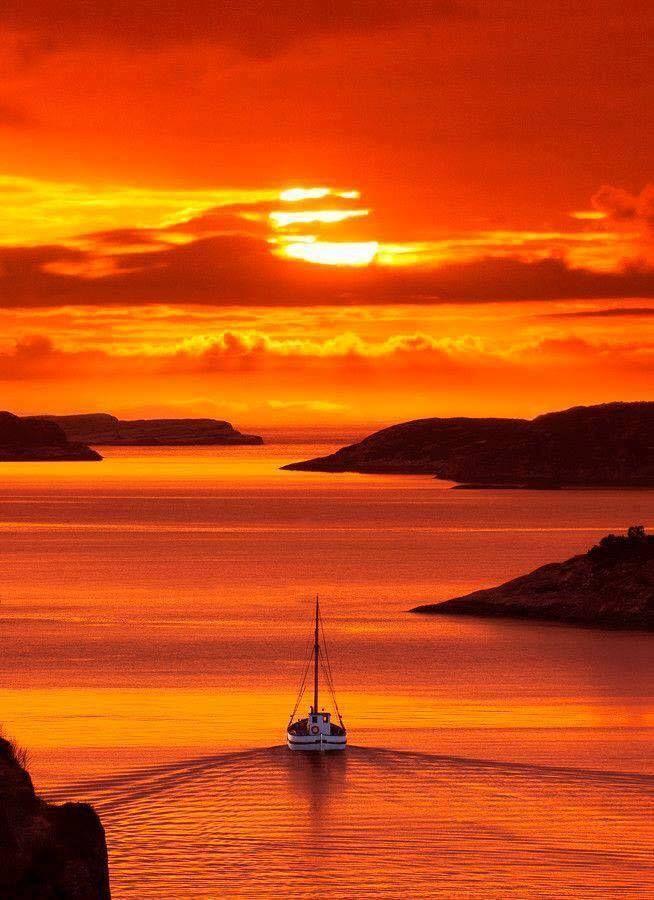 Solsvik Sunset, Norway
