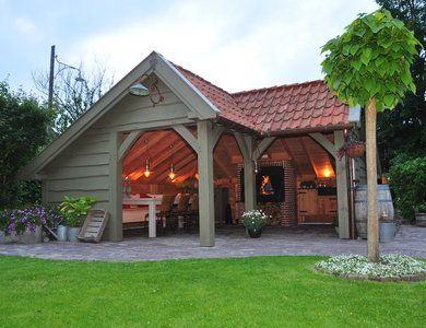 Kapschuur: schön und irgendwas (Veranda / Gewölbe) steht uff unserer Wunschliste m …, #etwas #gartenhaus #kapschuur #schon #steht