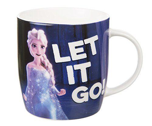 Disney Frozen Elsa Let It Go Mug @ niftywarehouse.com #NiftyWarehouse #Frozen #FrozenMovie #Animated #Movies #Kids