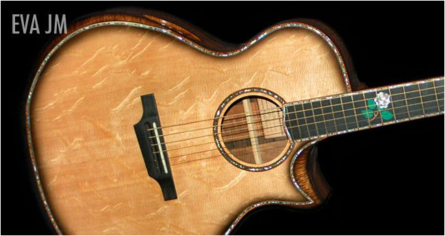 custom acoustic guitars | Custom acoustic guitars, handmade acoustic guitars, quality acoustic ...