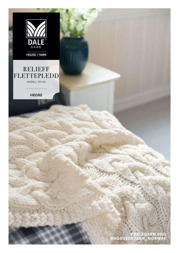 dg_335_06_ullpledd | knitted throw | knitted blanket | chunky knits | knitted interior | knitting pattern
