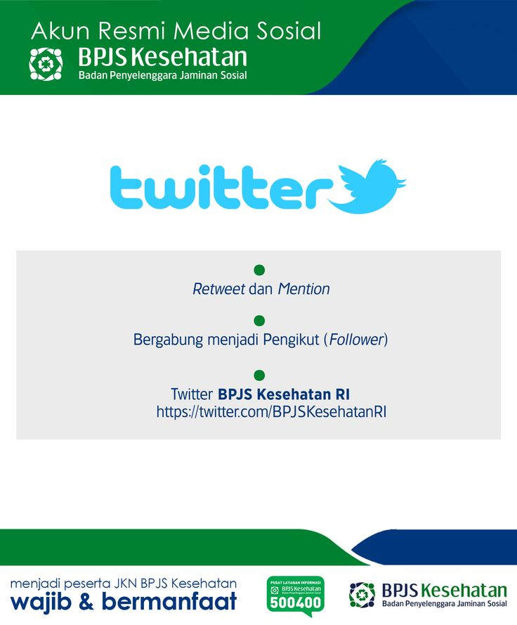 Media Sosial BPJS Kesehatan, Twitter