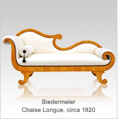 17 best images about biedermeier on pinterest vienna for Biedermeier chaise