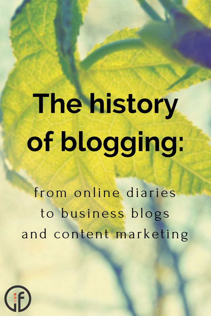 Ever wondered how online blogging began? How about the number of blogs that were online in 1999? Find out about the history of blogging, from the humble online diary, or 'web log', to today's dynamic business blogs and comprehensive content marketing strategies.