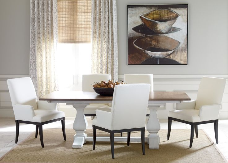 Dining Room Table With Extension New 60 Best Dining Optionsethan Allen Images On Pinterest  Chairs Inspiration Design