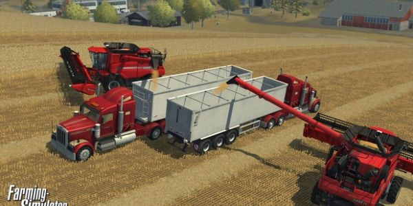 Agrarian Game Again Farming Simulator 2015 Trailer - Its the time of year for revealing seemingly inevitable yearly sequels; first Football Manager 2015 and now the similarly field-based Farming Simulator 2015.