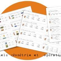 Rituels géométrie et maths ….suite