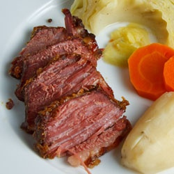 gu in ness corned beef with cabbage corned beef and cabbage with ...