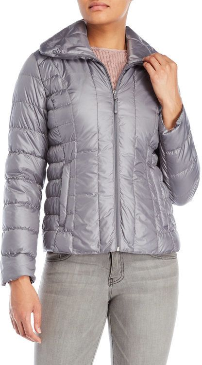 Kenneth Cole Puffer Down Packable Jacket