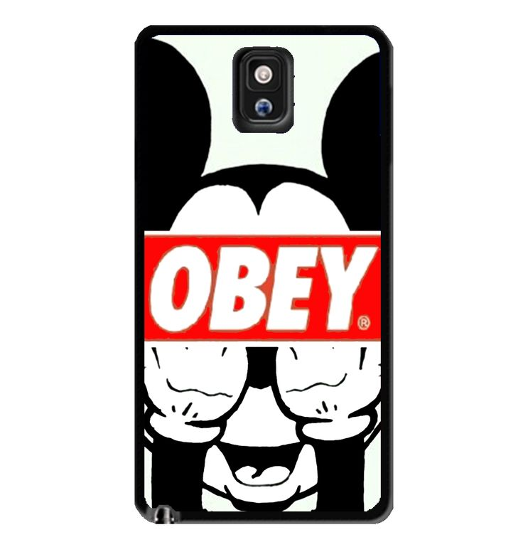 mickey mouse obey samsung galaxy s3 s4 s5 note 3 case