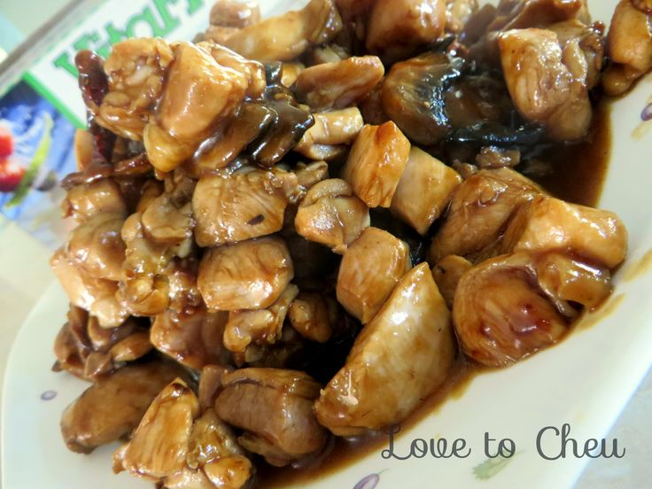 Love to Cheu: Kung pou chicken