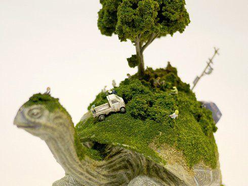 動物の背中にある小さな世界。SEKAI - まとめのインテリア / デザイン雑貨とインテリアのまとめ。