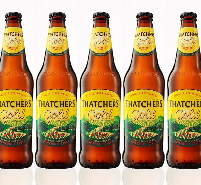 Thatchers Gold Cider on Packaging of the World - Creative Package Design Gallery